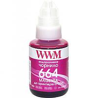 Чернила WWM Epson L110/210/300 Magenta (E664M) 140г