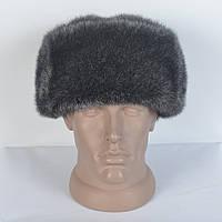 Зимняя мужская шапка из искусственного меха норки