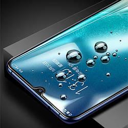 Защитное стекло Motorola Moto E6 Plus, 9D, 9H, Full Cover/Full Glue