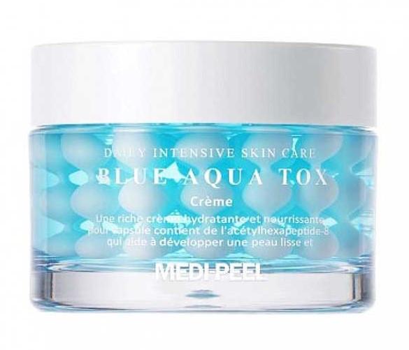 Увлажняющий крем в шариках Medi-Peel Blue Aqua Tox Cream