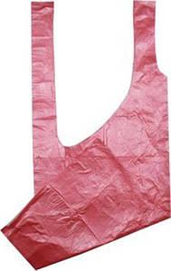 Фартук полиэтиленовый одноразовый Panni Mlada 0,8х1,25 м (10 шт.) Розовый