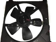 Вентилятор радиатора основной Нексия в сборе, 96144965