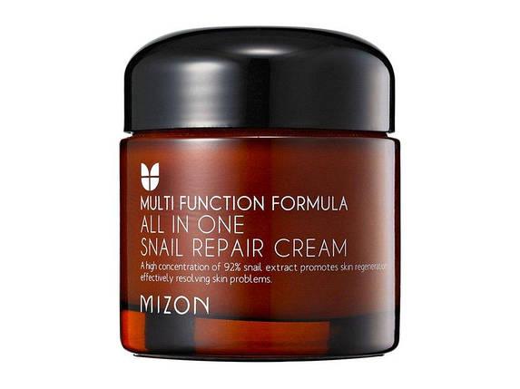 Мультифункциональный крем Mizon All in One Snail Repair Cream, 75 мл, фото 2