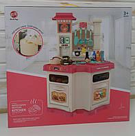 Детский игровой набор кухня с циркуляцией воды, звук, свет,  848А-В