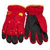 Водовідштовхуючі  дитячі лижні рукавички, розмір 14, червоний, плащівка, фліс, синтепон (516970), фото 2