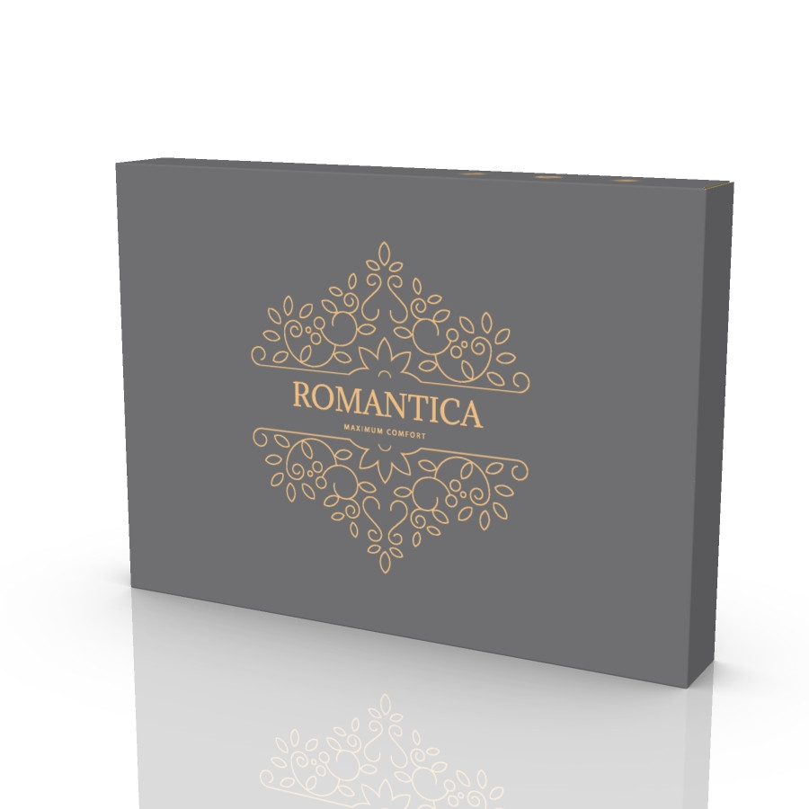 Подарочная коробка для постельного белья 455х330х60 мм. Romantica