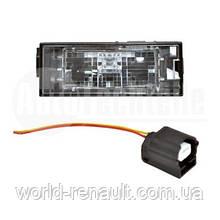 AutoTechteile (Германия) 505 0702- Подсветка номерного знака в комплекте с фишкой на Renault Laguna 2