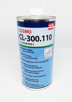 Очиститель профиля металлопластиковых ПВХ окон Cosmofen 5 для глубоких царапин и потертостей