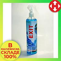 Распродажа! Кожный спрей спиртовой санитайзер для рук антисептик EXIT 500 мл с дозатором большой, фото 1