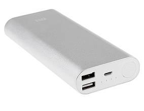 Банк заряда Xiaomi 16000 mAh. Silver