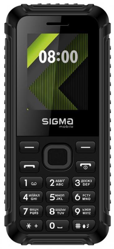 Мобильный телефон Sigma mobile X-style 18 Track Dual Sim Black, 1.77 (160х128) TN / клавиатурный моноблок /