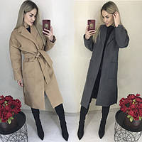 Женское модное кашемировое пальто ft-1039/42-46