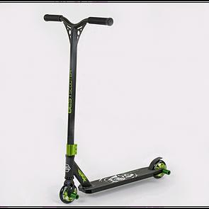 Самокат трюковий Best Scooter HIC-система, ПЕГІ, алюмінієвий диск і дека, колеса PU, 75443