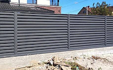 Забор жалюзи Эксклюзив 0,9мм, фото 3