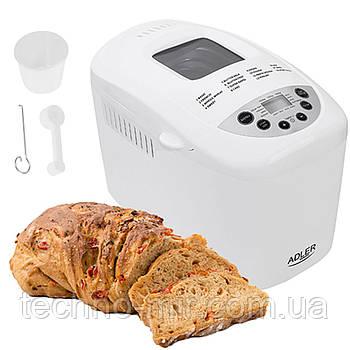 Хлібопічка два вінчика 1.5 кг Adler AD 6019