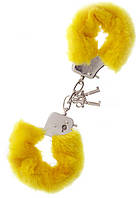 Наручники Metal Handcuff with Plush yellow