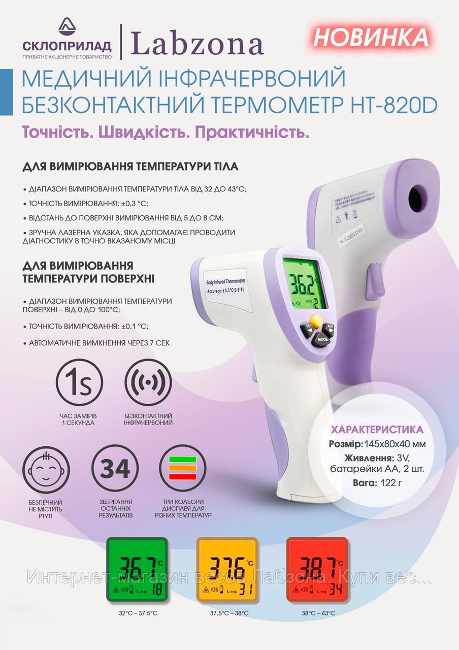 Термометр медичний