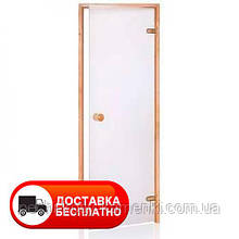 Двери для хамама ANDRES шиншила белая (kirgas)