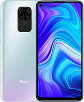 Смартфон Xiaomi Redmi Note 9 3/64GB Dual Sim Polar White, 6.53 (2340х1080) IPS / MediaTek Helio G85 / ОЗУ 3 ГБ