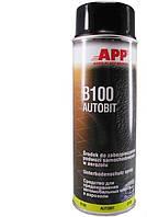 Антикоррозионное средство для защиты днища АРР Autobit В-100 черный, аэрозоль 500 мл