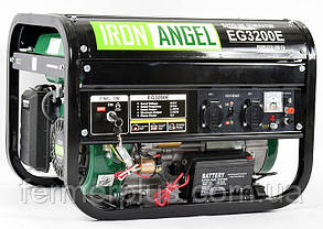 Генератор бензиновый IRON ANGEL  EG3200 E  (2,8 кВт, электростарт)