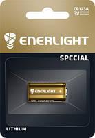 Батарейка ENERLIGHT Cell Lithium 3V CR123
