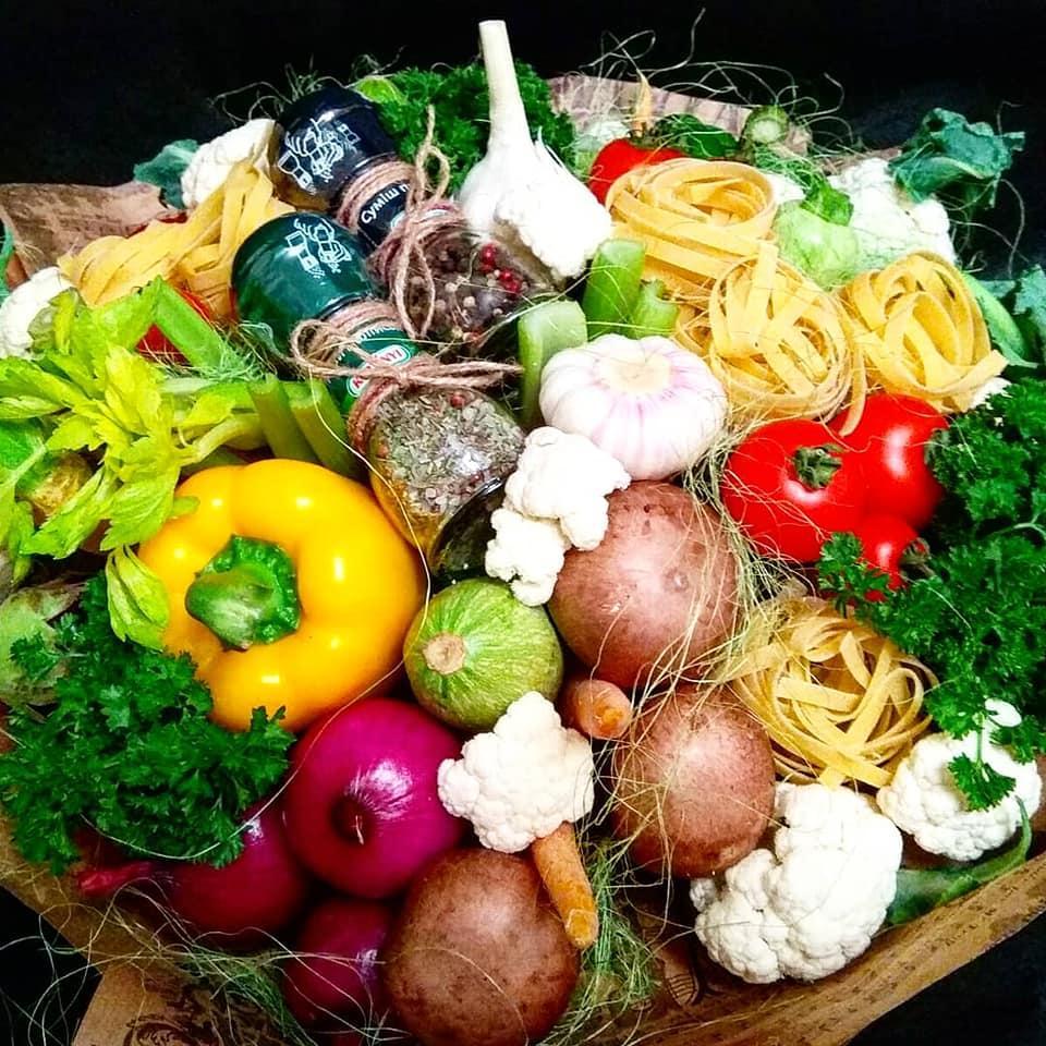 Овочевий мегабукет Pasta Boom XXL