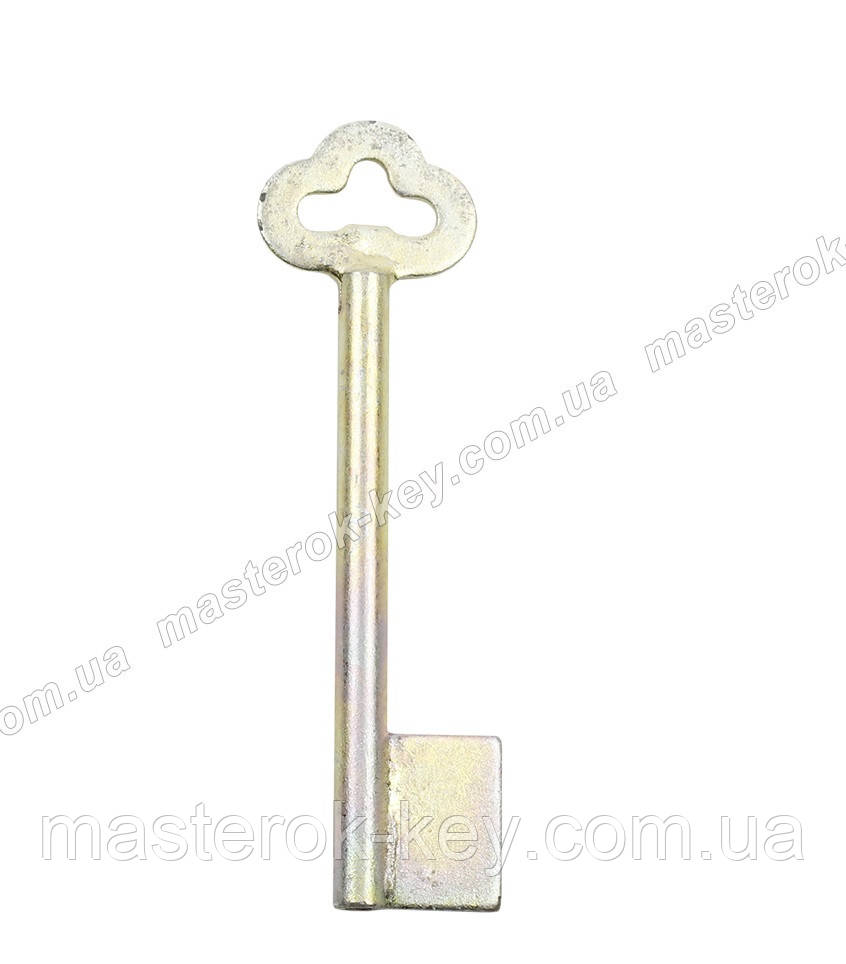 Заготовка ключа ЖЕЛТОВОДЬЕ 7 мм заподлицо с отверстием