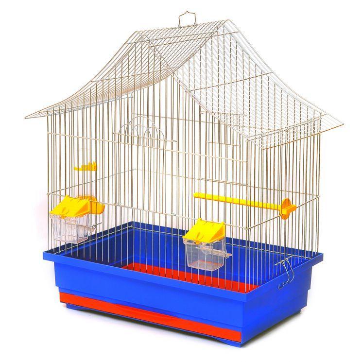 Клетка АЛИСА для птиц, 47х30х54 см, цинк