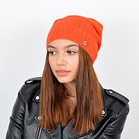 Шапка Астра (альпака) Оранжевый