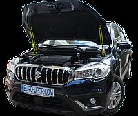 Газовый упор капота (амортизатор капота) для Suzuki SX4 2gen. / Сузуки СХ4 2поколоения (2014+)