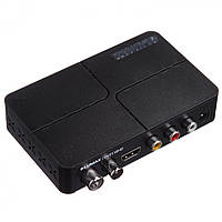 Цифровой ТВ-ресивер DVB-T2 Lumax DV2118HD + IPTV + YouTube + Wi-FI