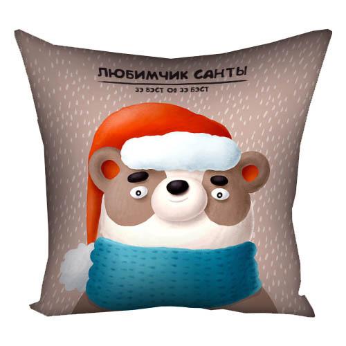 Подушка с принтом Чарівних свят 30x30, 40x40, 50x50 (3P_20NG020_UKR)