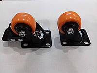 Мебельное колесо (резина , подшипник)