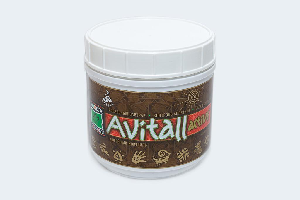 Коктейль кавовий, 398 Г Greenway Avitall Active #01203