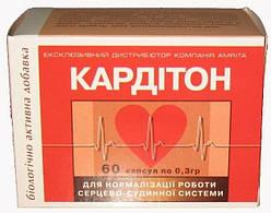 Кардитон. Для нормализации сердечно-сосудистой системы, 60 капс., серия приморский край