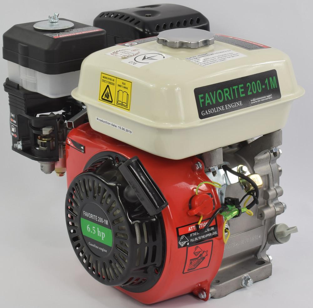 Двигун бензиновий 6.5кс Iron Angel 200-1M Favorite