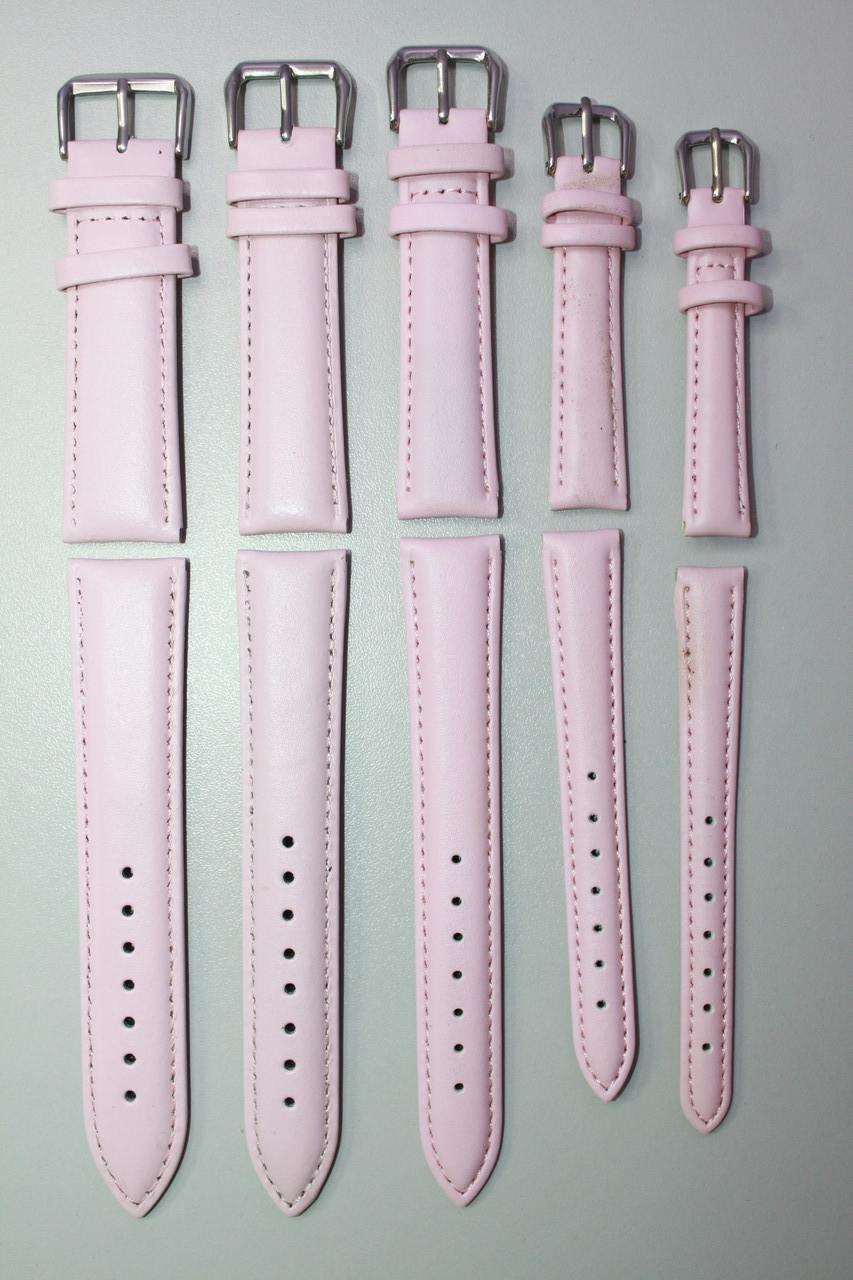 Кожаный ремешок для наручных часов, смарт часов 1 шт розовый