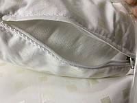 Подушка 50х70 Антиаллергенная ЭКОПУХ с наволочкой на замке 100% хлопок   Подушка для сна ОДА