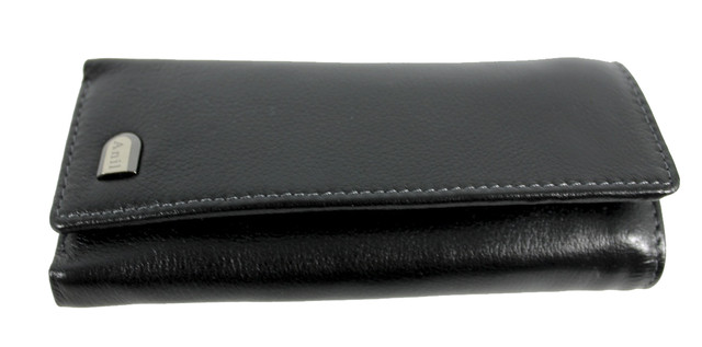 Кожаный кошелек-ключница Anil