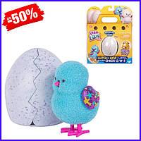 Детская интерактивная мягкая игрушка птичка сюрприз цыпленок в яйце Little Live Pets Surprise Chick Moose