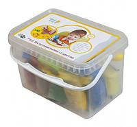 Набор для лепки Genio Kids Тесто-пластилин 12 цветов TA1068, фото 1