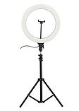 Кольцевая LED лампа 38 см A390 с пультом | Светодиодная селфи лампа  + Штатив В Подарок, фото 4