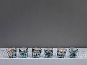 Набор 6 пьяных голографических стопок в деревянном ящике арт. DG 014.00036, фото 2