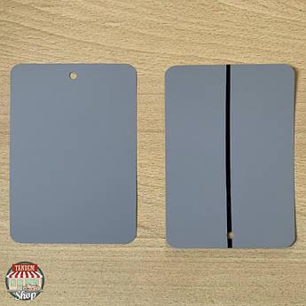 Тест-пластина для фарби металева Q-Refinish 70-770, Світло-сірий