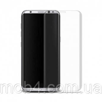 Прозрачное защитное стекло Full Glue + Lamp для Samsung (Самсунг) S9 plus