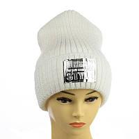 """Молодіжна шапка """"Urban style"""" білий"""