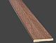 Наличник ПВХ DeLuxe 64*6 прямоугольный (стоевая), фото 3