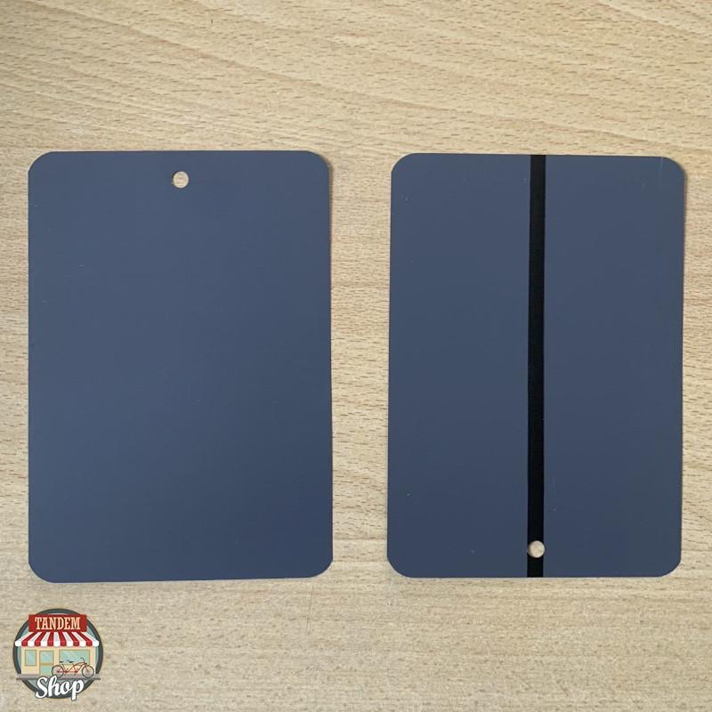 Тест-пластина для фарби металева Q-Refinish 70-770, Темно-сірий