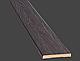 Наличник ПВХ DeLuxe 64*6 прямоугольный (стоевая), фото 8
